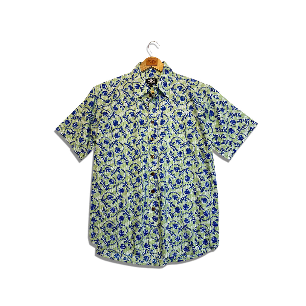 RK Men's Shirt Gecko Print