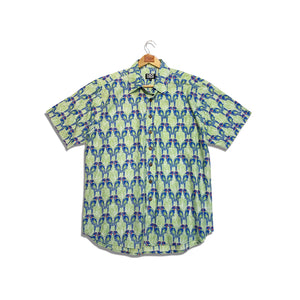 Rk Men's Shirt Parrot Design