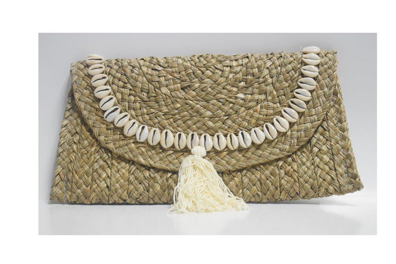 RK Clutch with shell and fringes