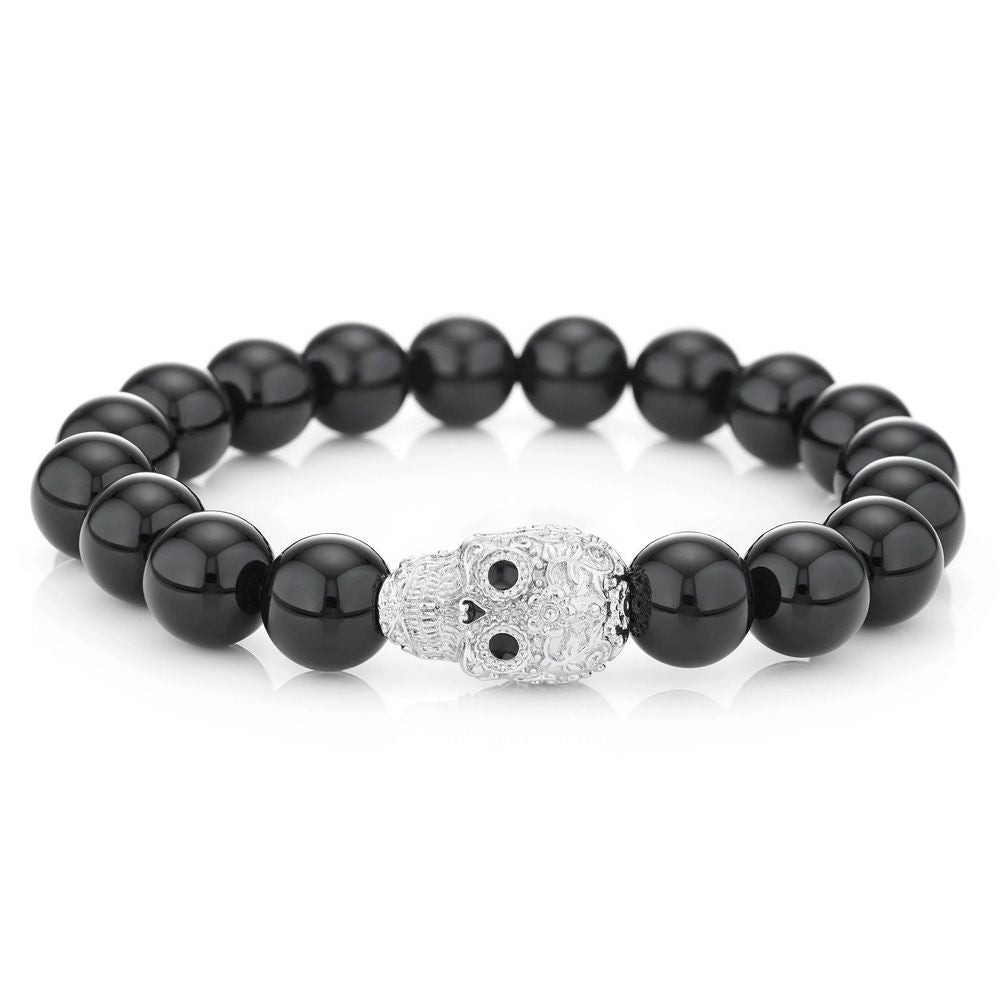 Buckley London Calavera Skull Bracelet