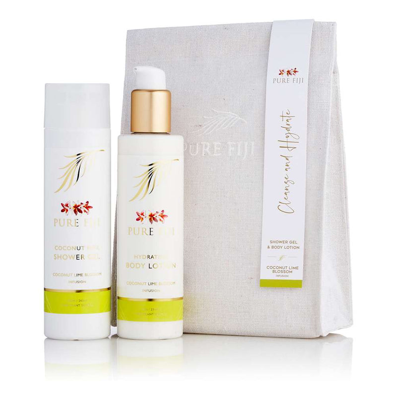 Pure Fiji Bath & Body Kit