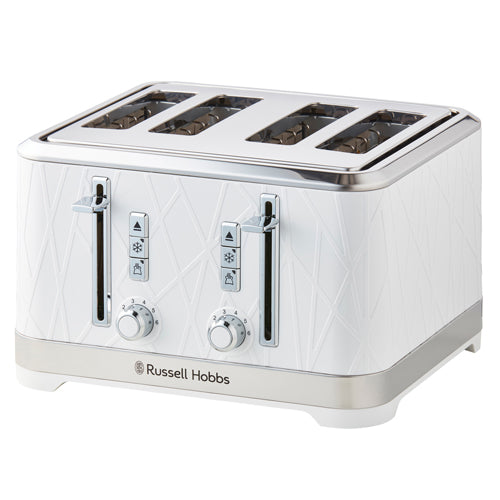 Russell Hobbs Structure 4 Slice Toaster White