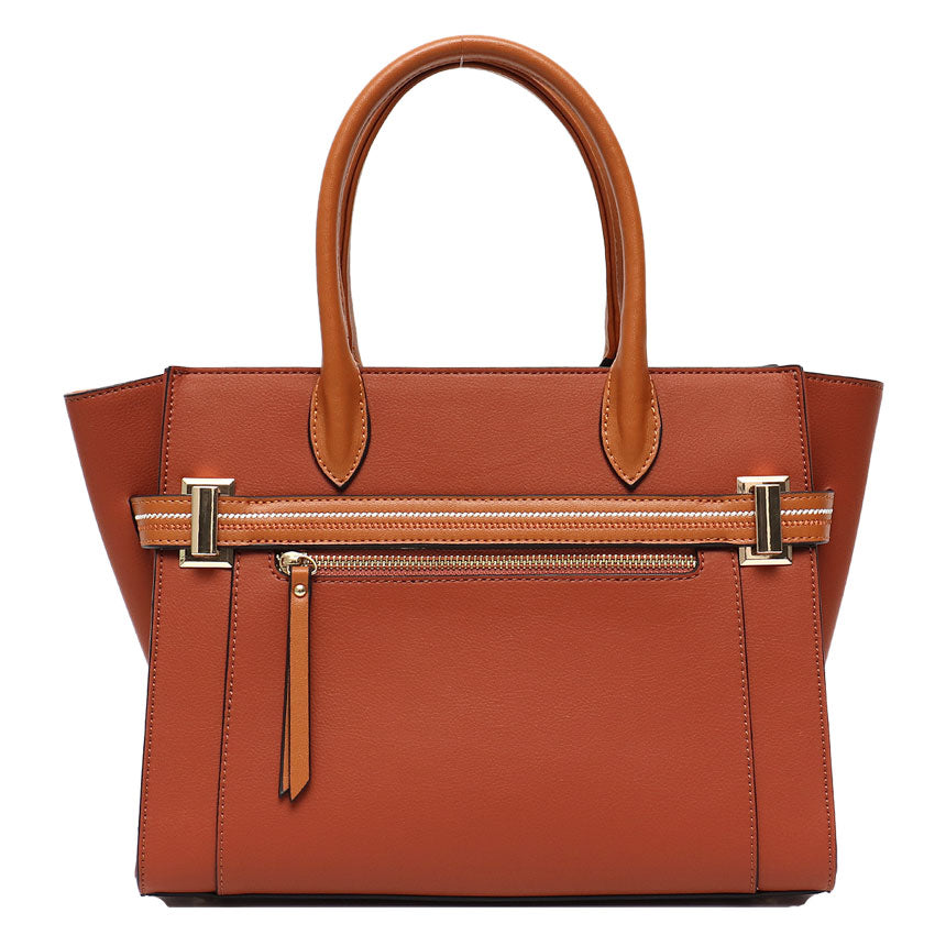 Vera May Gallie Tan Vegan Handbag