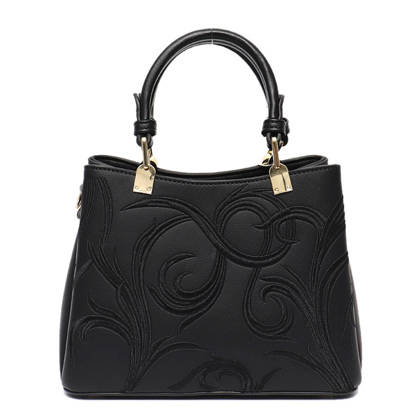 Vera May Stellie Black Vegan Fashion Handbag