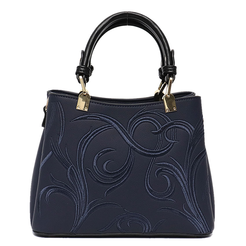 Vera May Stellie Navy Vegan Fashion Handbag