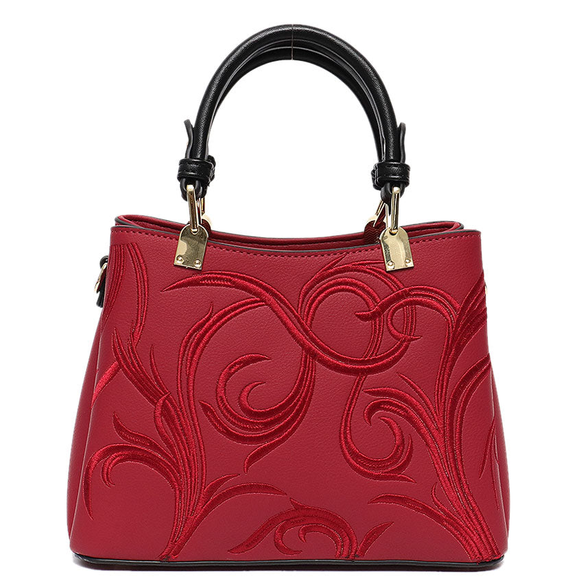 Vera May Stellie Red Vegan Fashion Handbag