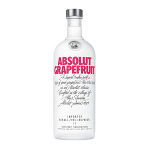 Absolut Grapefruit Vodka 1Lt
