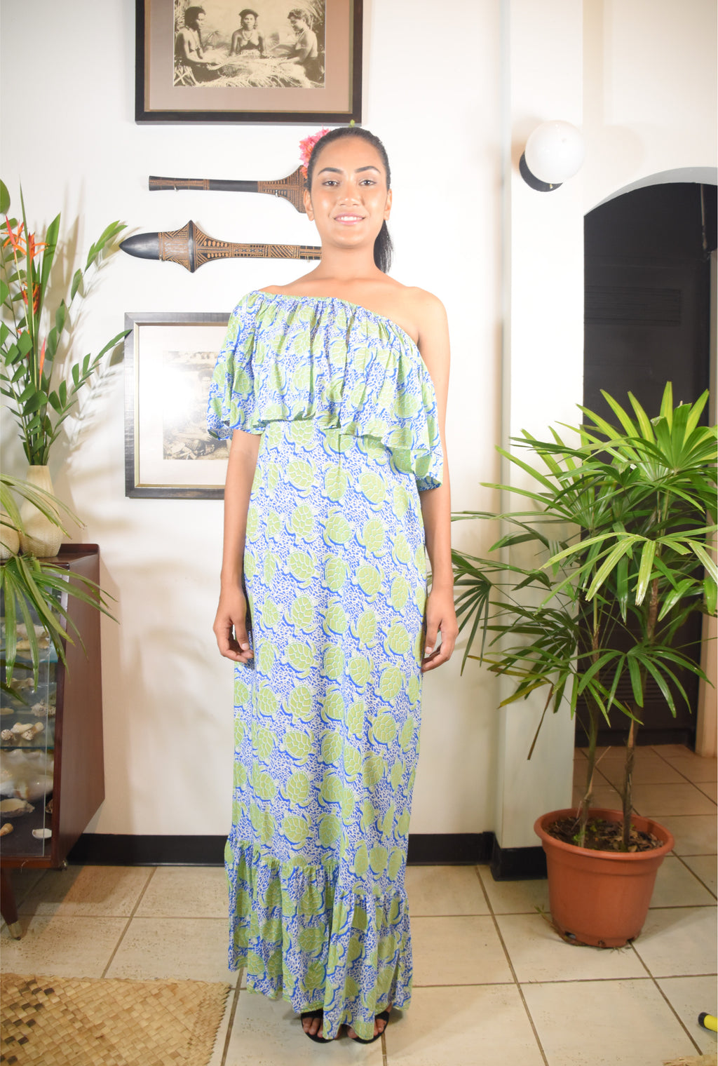 RK Noni Dress Turtle Print