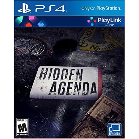 Sony Hidden Agenda PS4