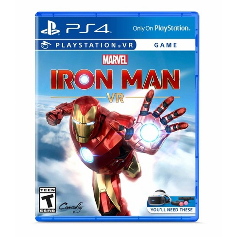 Sony Marvels Iron Man VR PS4