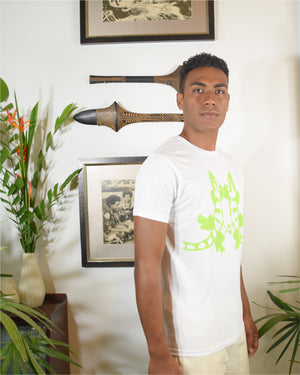 RK Mens Tees White Iguana Design