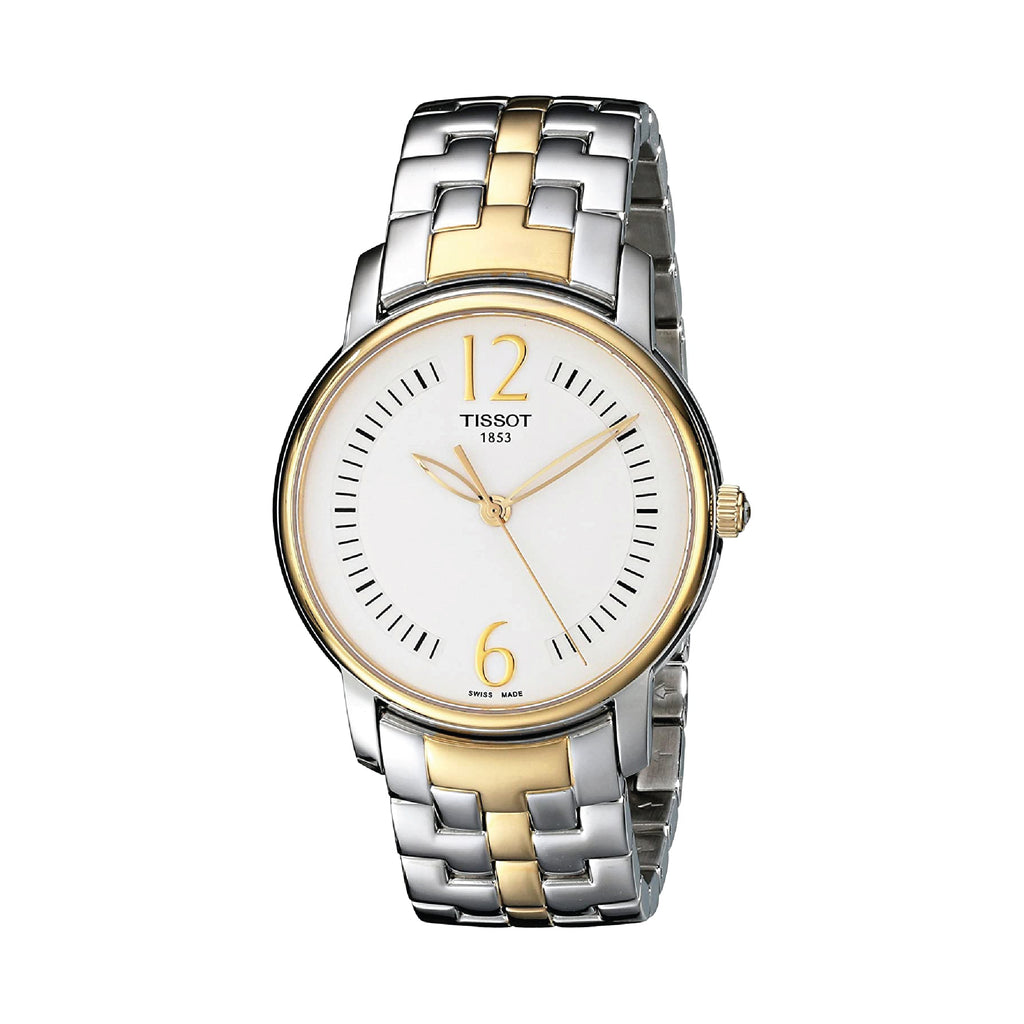 Tissot Lady Round Trend Silver PVD Ladies Watch