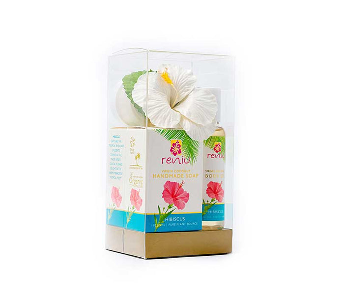 Reniu Gift Bags Lotion, Oil & Butter Hibiscus