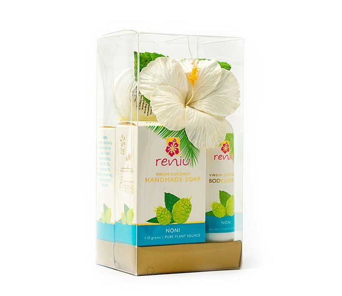 Reniu Gift Bags Lotion, Oil & Butter Noni