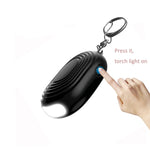 Emergency Security Personal Alarm with Keychain and Bright Light - The Personal Security Company