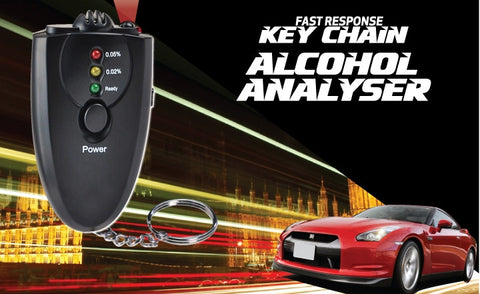 Breathalyzer Keychain Alcohol Tester