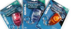 Quell 3 Pack Personal Alarm  with Blue/Orange/Red Personal Alarms