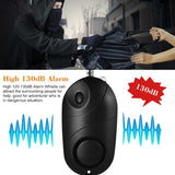 Personal Alarm -Total Protection -Black Only - The Personal Security Company