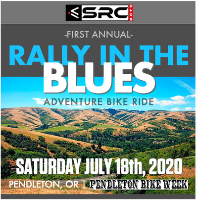 "Come join us for the First Annual ""RALLY IN THE BLUES"" Adventure ride! July 18th, 2020"