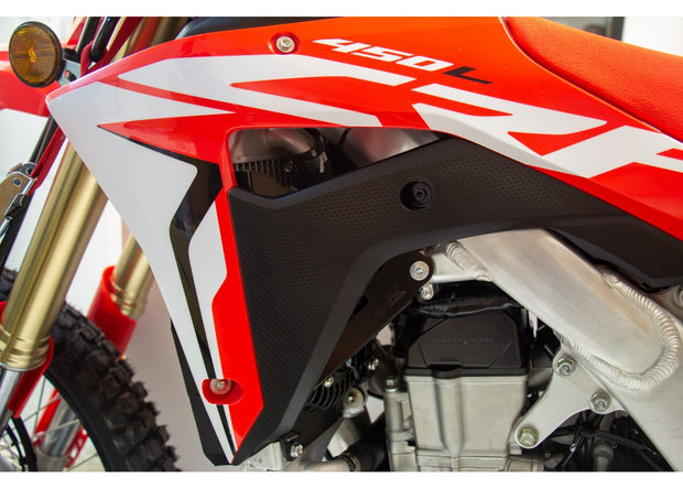 Works Connection Radiator Guards Braces 2019-2020 HONDA CRF 450L