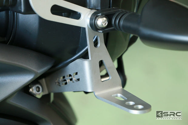 SRC Auxiliary Light Mounting Brackets Triumph Tiger XCX / XRX 2016-2017
