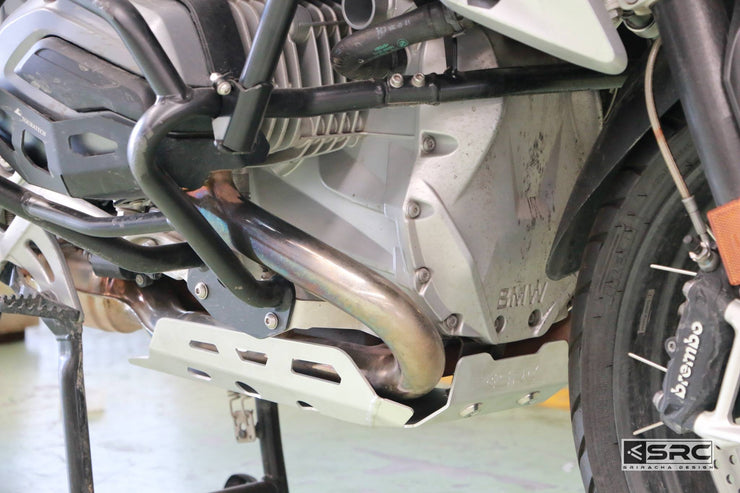 Protective Aluminum Skid Plate lower engine sump guard BMW R 1200 GS