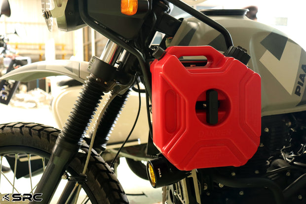 Fuel/Jerry Can and SRC Bracket kit for 2016-2020 Royal Enfield Himalayan