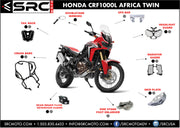 Side stand foot enlarger HONDA HONDA AFRICA TWIN