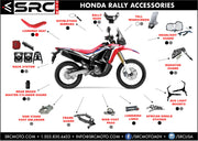 LED Driving Light upgrade for 2017-2020 HONDA CRF 250L Rally