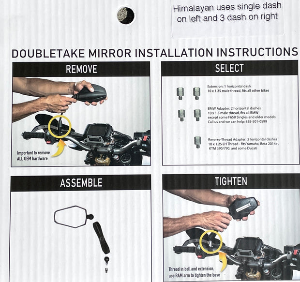 DoubleTake Adventure Mirror Set