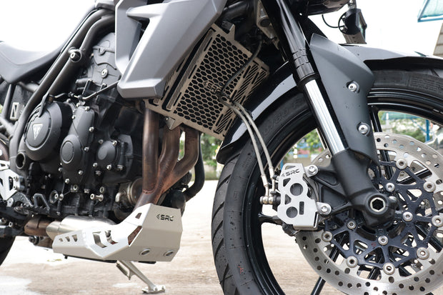 SRC Front Caliper Guards Triumph Tiger 800 XRX / XCX / XCA 2017-2019
