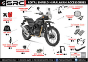 Exhaust head pipe guard 2016-2020 ROYAL ENFIELD HIMALAYAN