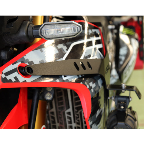 SRC Auxiliary Light Mounting Brackets Honda CRF 250 Rally