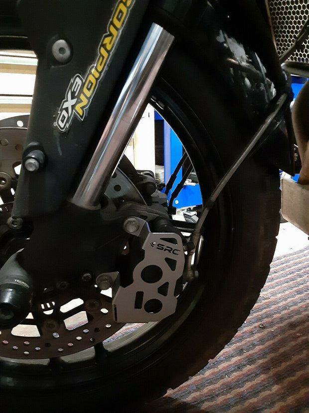 SRC Front Caliper Guards Triumph Tiger 800 XRX / XCX / XCA