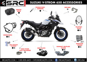 Crash Bars / Engine Guards  SUZUKI V-STROM 650 2014-2016