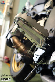 Wide Foot Peg Adaptors for Suzuki V-Strom 650 & 1000