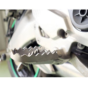 Wide Foot Peg Adaptors for Kawasaki Versys 650/1000