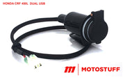 DUAL USB and 12 Volt Socket Accessory Leads 2019-2020 HONDA CRF 450L