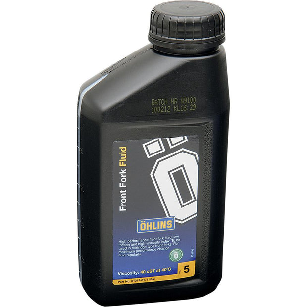 Ohlins Fork Fluid - 1 Liter (2 required for a proper fluid service)
