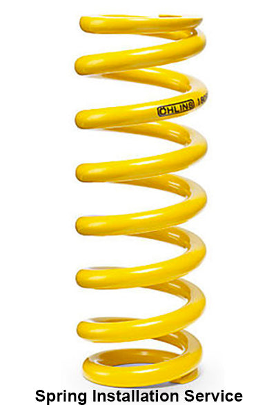 OHLINS Rear Shock Spring Installation Service  CRF 250L RALLY