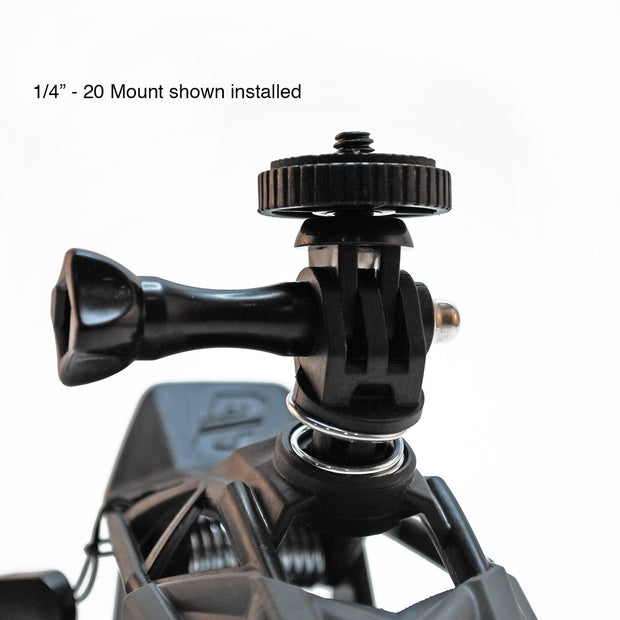 DANGO Gripper Mount for GoPro and other POV cameras