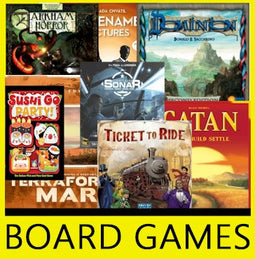 NEW RELEASES - BOARD GAMES