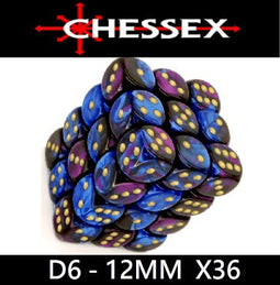 CHESSEX - D6 - 12MM X36