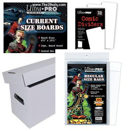 COMIC BAGS/BOARDS/BOXES