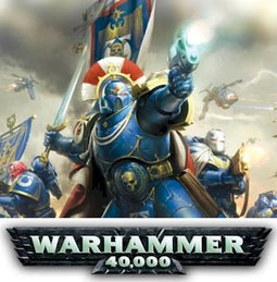 WARHAMMER 40K ARMIES - SPACE MARINES