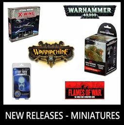 NEW RELEASES - MINIATURES
