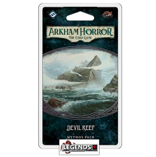 ARKHAM HORROR - LCG -  DEVIL REEF  MYTHOS PACK