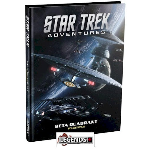STAR TREK ADVENTURES - RPG  THE BETA QUADRANT - RULEBOOK