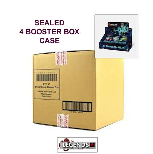 MTG - ULTIMATE MASTERS       4-BOOSTER BOX CASE - ENGLISH