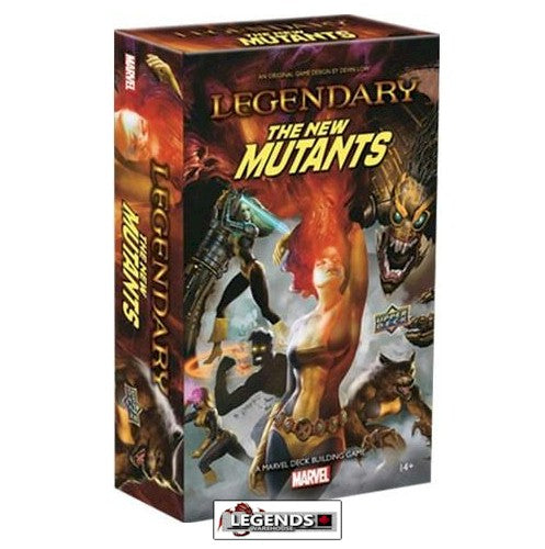 LEGENDARY : A Marvel Deck Building Game - NEW MUTANTS Expansion